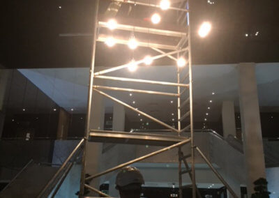 QWA - Atrium Lighting Install